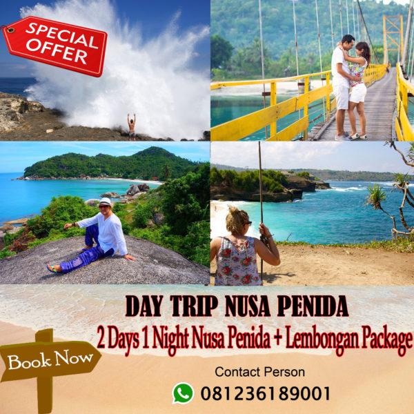 2 Days 1 Night Nusa Penida + Lembongan Package