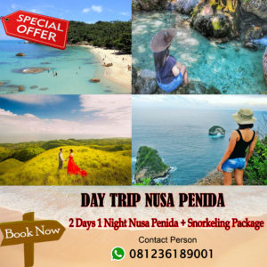 2 Days 1 Night Nusa Penida + Snorkeling Package