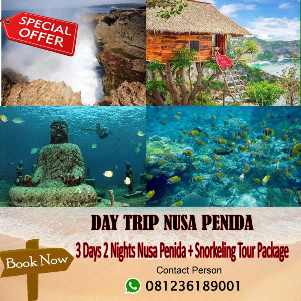 3 Days 2 Nights Nusa Penida + Snorkeling