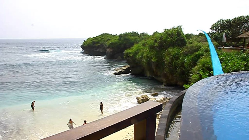 Dream Beach Nusa Lembongan.