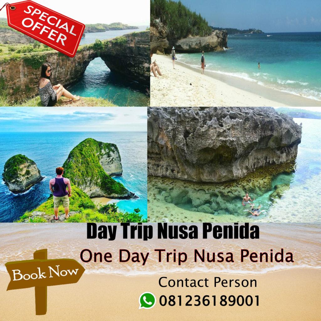 One Day Trip Nusa Penida Call 6281236189001 Paket Bali